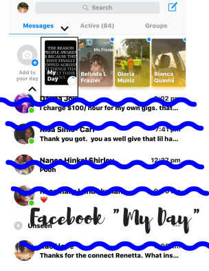 Facebook -My Day-